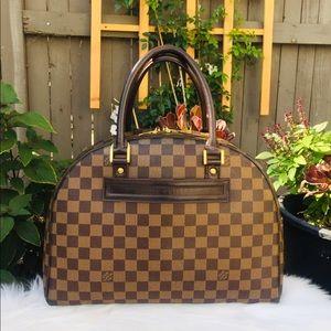 💙Authentic Louis Vuitton Nolita Hand Bag XL 🌸
